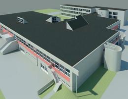 Uitbreiding schoolgebouw in Utrecht